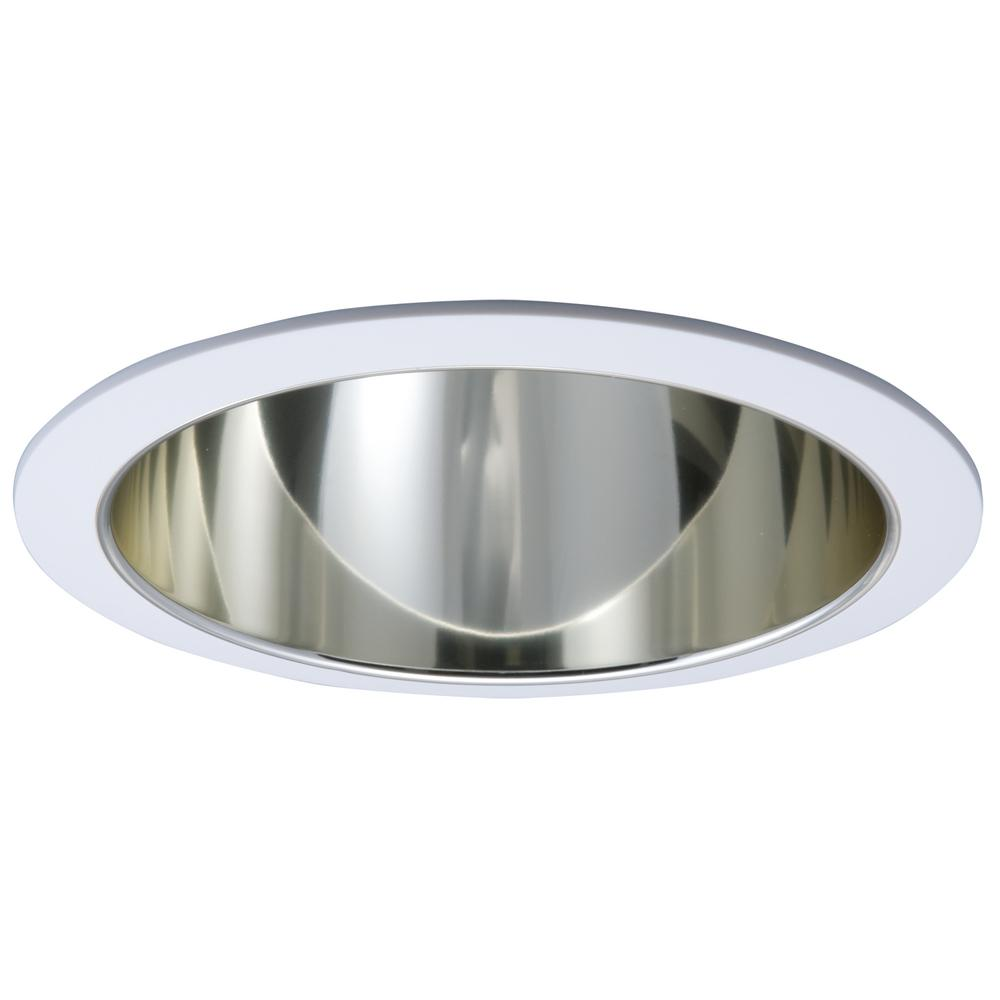 Halo 6 in white and gold recessed ceiling light trim with white and gold recessed ceiling light trim with reflector arubaitofo Image collections