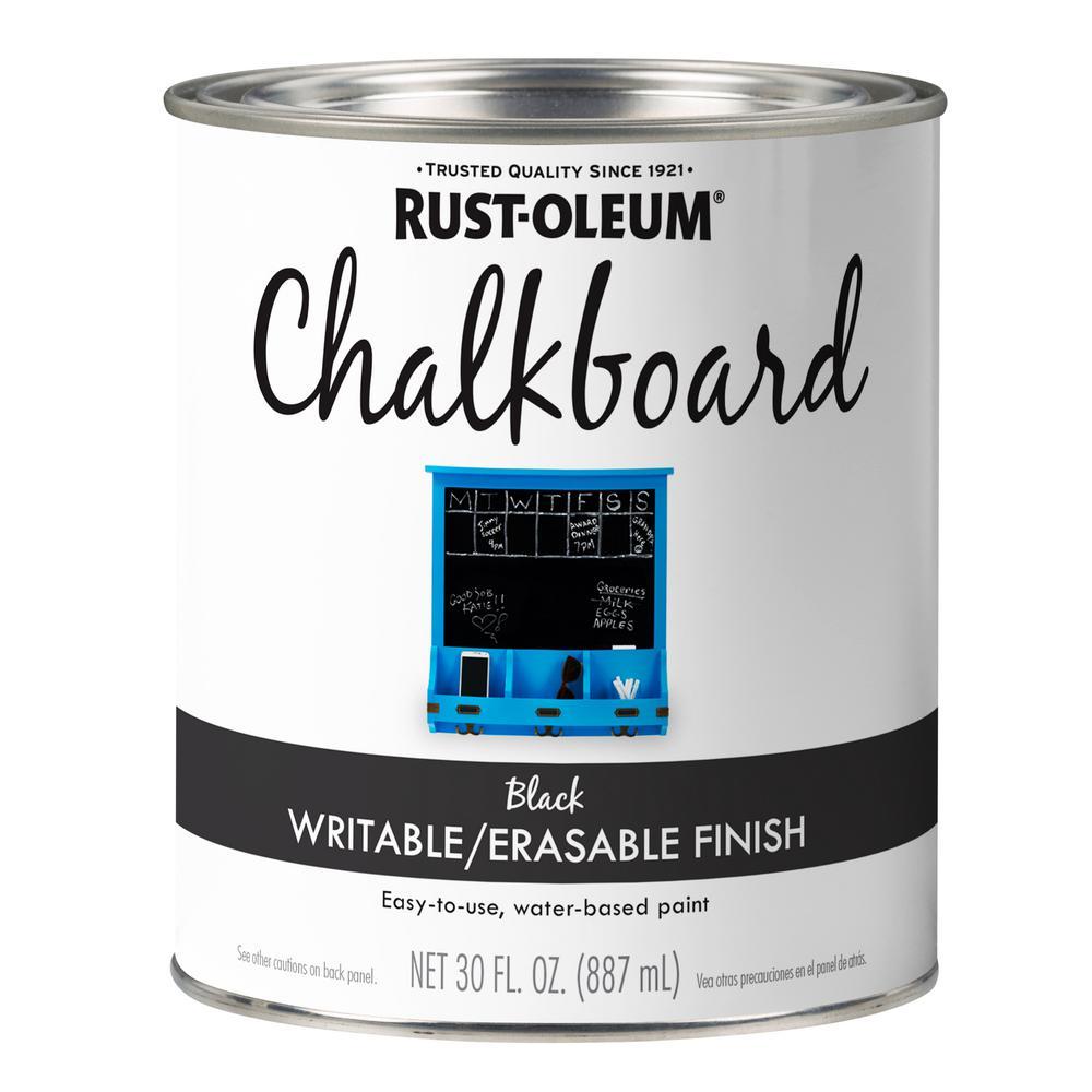 30 oz. Black Chalkboard Paint