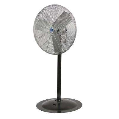 Mach Series High Performance 24 in. Pedestal Mount Air Circulator
