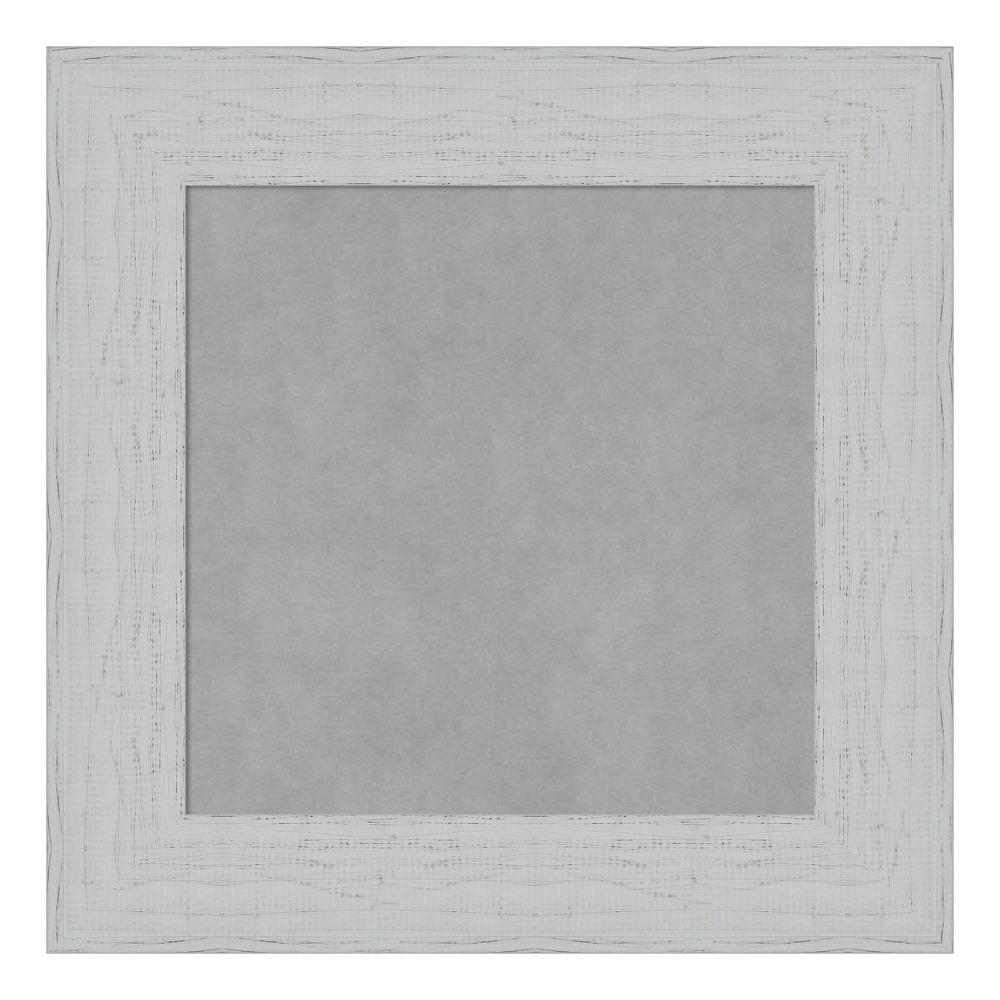 Shiplap White Framed Magnetic Memo Board