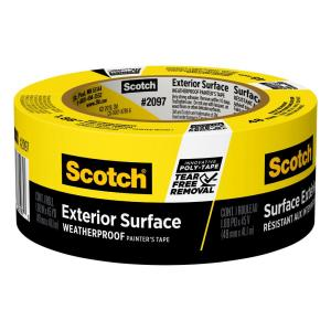 ScotchBlue 1.88 in. x 45 yds. Exterior Surfaces Painter's Tape