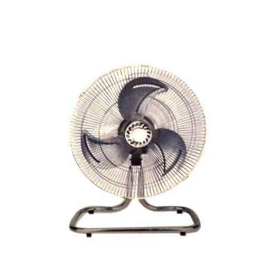 18 in. Industrial Fan Floor Stand Mount Shop Commercial High Velocity Oscillating - 2 Year Warranty