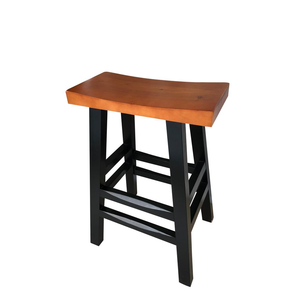 Ore 30 In Solid Wood Fully Assembled Barton High Bar Stool C 1016