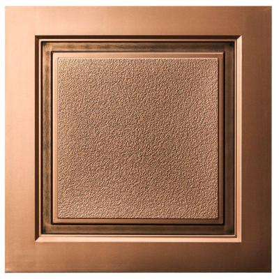 Westport 2 ft. x 2 ft. Lay-in Ceiling Tile in Antique Bronze (40 sq. ft. / case)