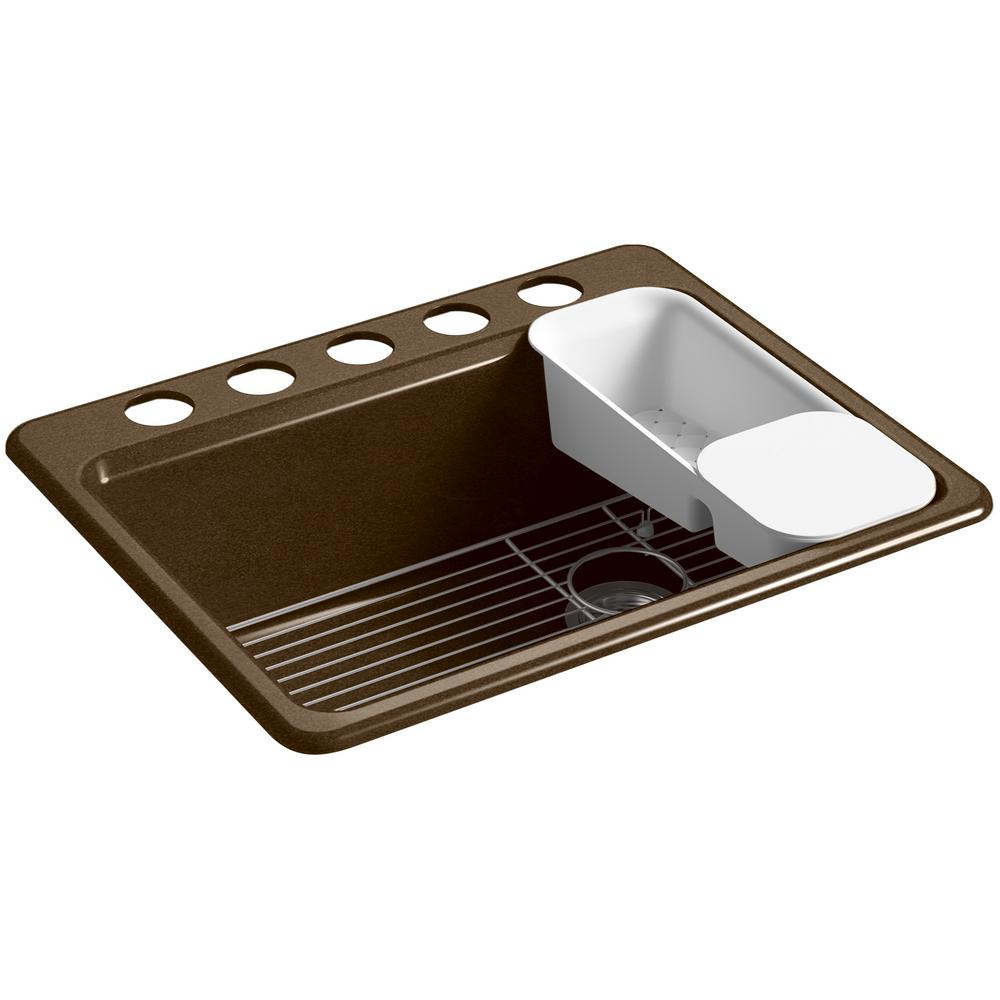 Kohler Riverby Undermount Kitchen Sink K  Ua