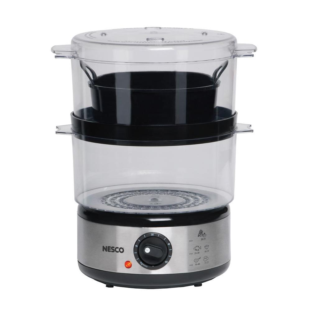Nesco 5 qt. Food Steamer, Silver