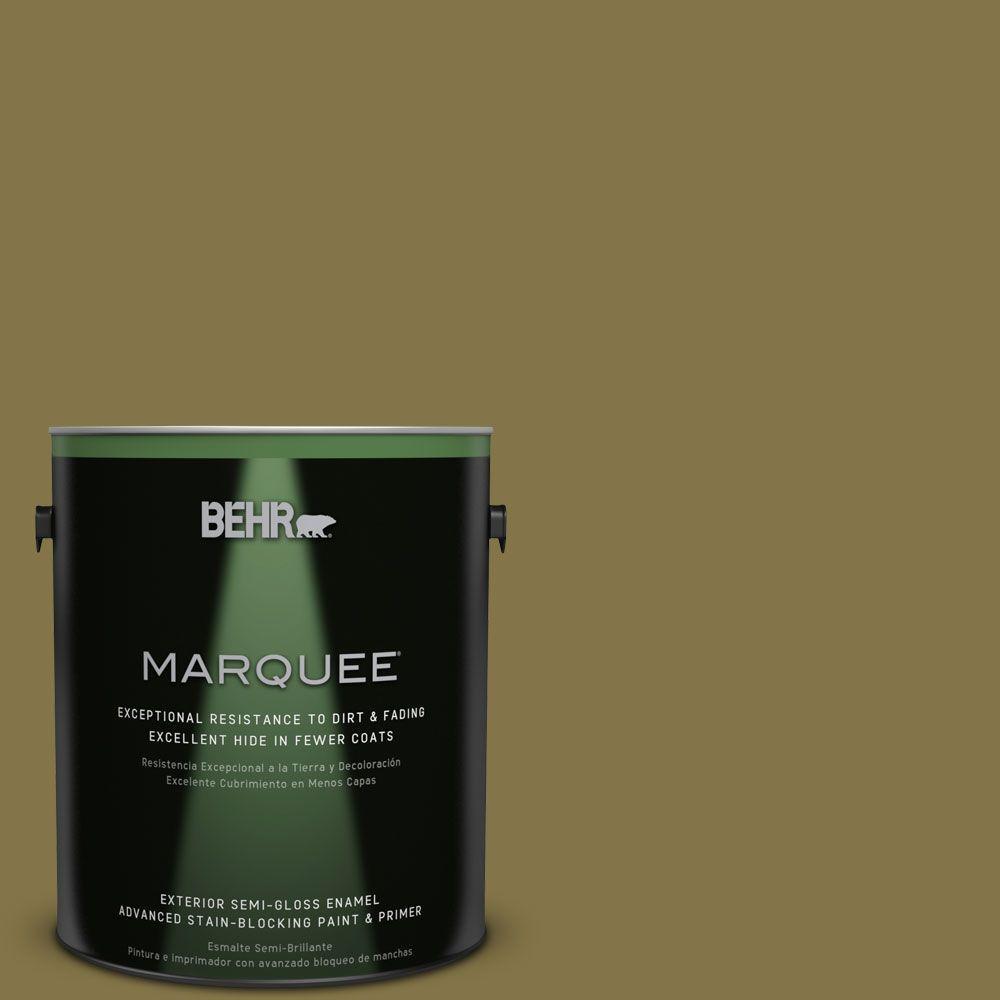 BEHR MARQUEE 1-gal. #PPU6-20 Eden Prairie Semi-Gloss Enamel Exterior Paint
