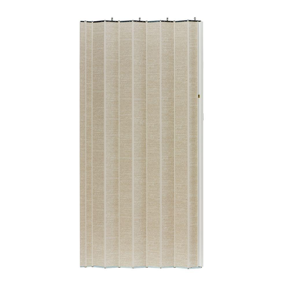 48 in. x 80 in. Woodshire Vinyl-Laminated MDF Chalk Accordion Door