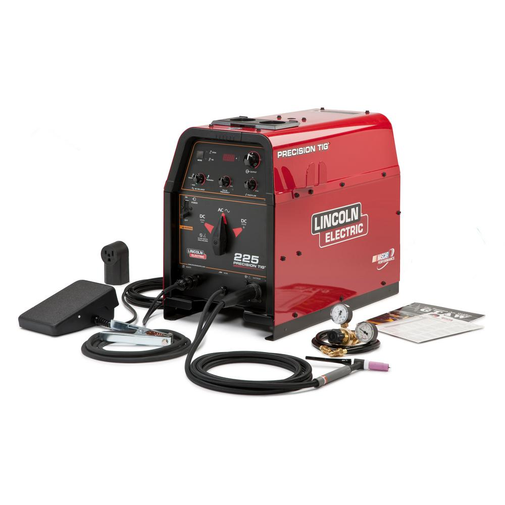 230 Amp Precision TIG 225 TIG Welder Ready-Pak, Single Phase, 208V/230V