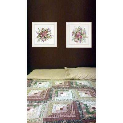 """""""Floral Spray I and II"""" by Cindy Jacobs Framed Wall Art"""