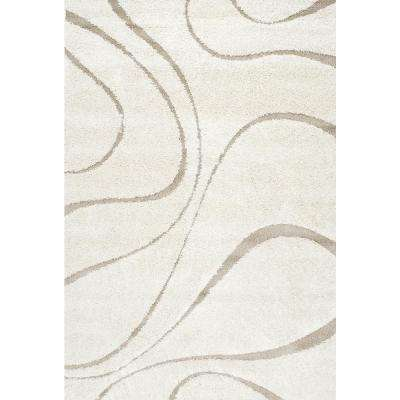 Carolyn Cream 8 ft. x 10 ft. Area Rug