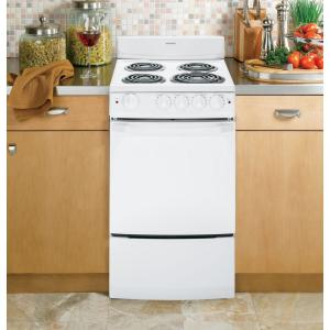 Hotpoint 20 in. 2.4 cu. ft. Electric Range in White-RA720KWH - The ...