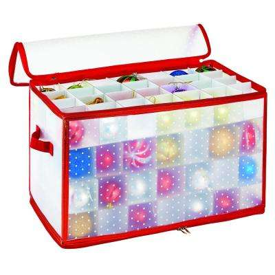 Ornament Organizer in Red (27-Count)