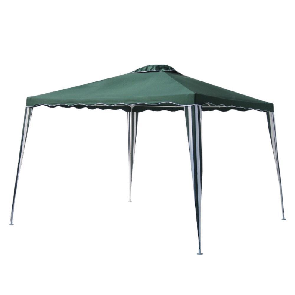 ALEKO 10 ft. x 10 ft. Green Gazebo Tent