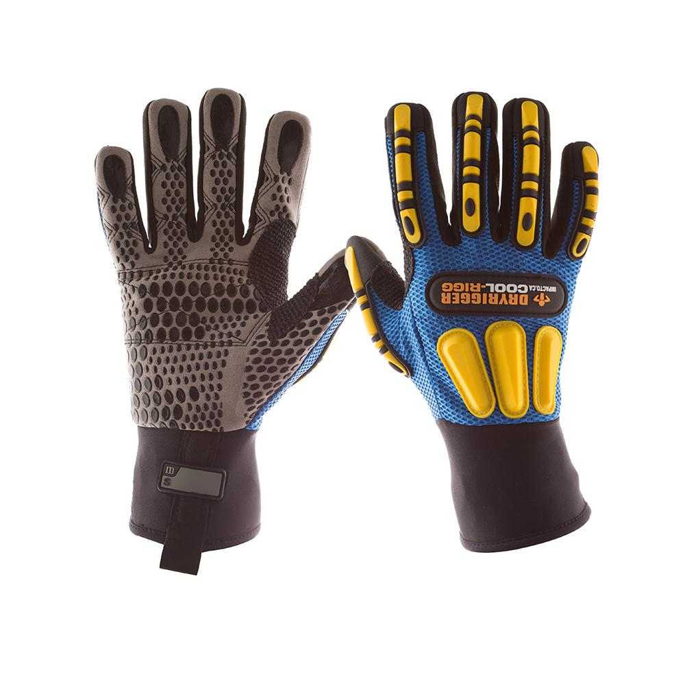 Dryrigger Coolrigg Large Anti-Impact Oil and Water Resistant Glove