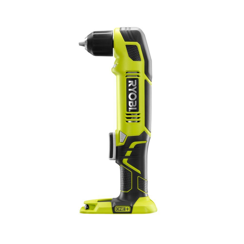 18 Volt One Cordless 3 8 In Right Angle Drill Tool Only