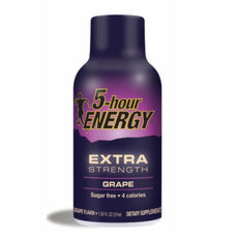 5 Hour Energy Extra Strength Grape Energy Drink