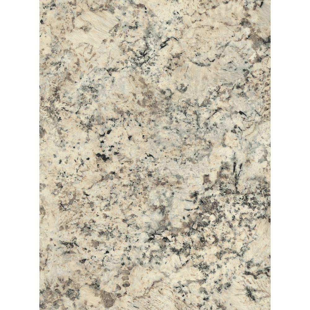 Wilsonart 2 in. x 3 in. Laminate Countertop Sample in Typhoon Ice ...