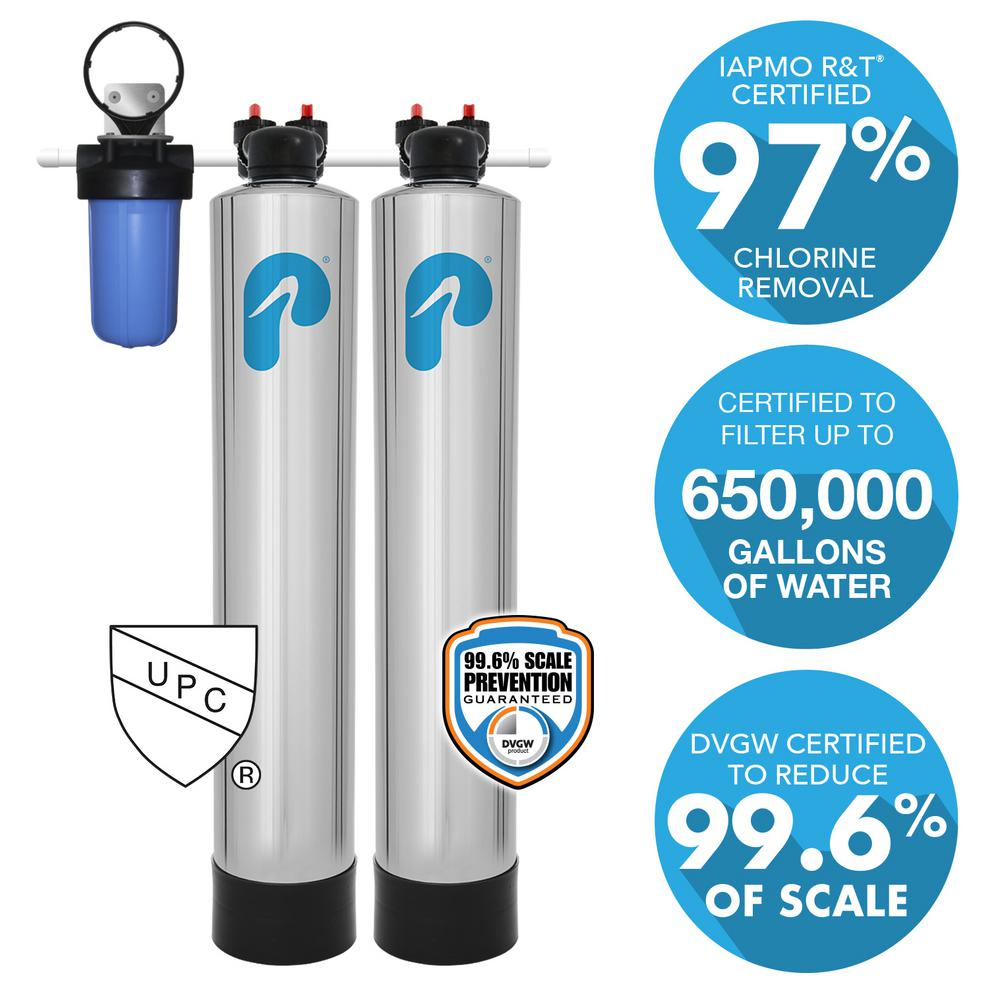 Pelican Water 10 Gpm Whole House Filtration And Natursoft