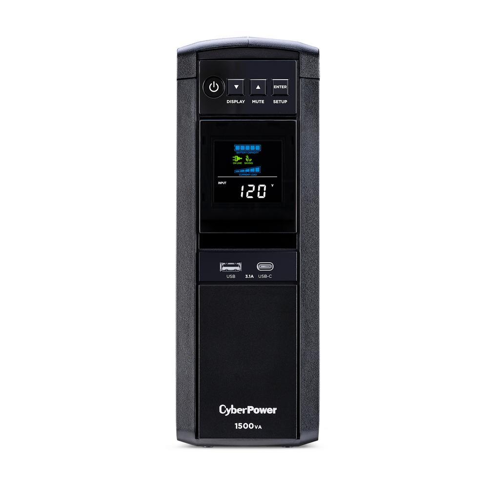 1500VA 120-Volt 12-Outlets Sine Wave LCD UPS