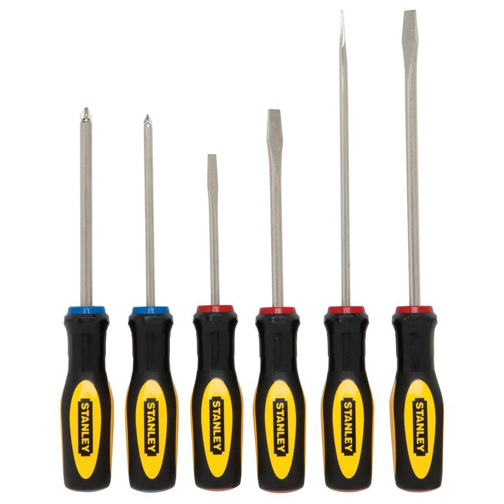 Stanley Screwdriver Set 6 Piece 60 060 The Home Depot
