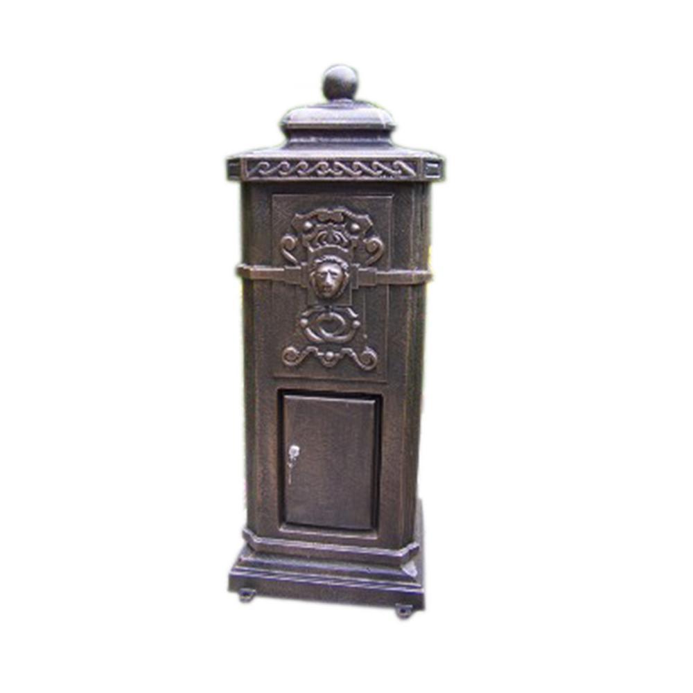 Kensington Cast Aluminum Decorative Mail Box
