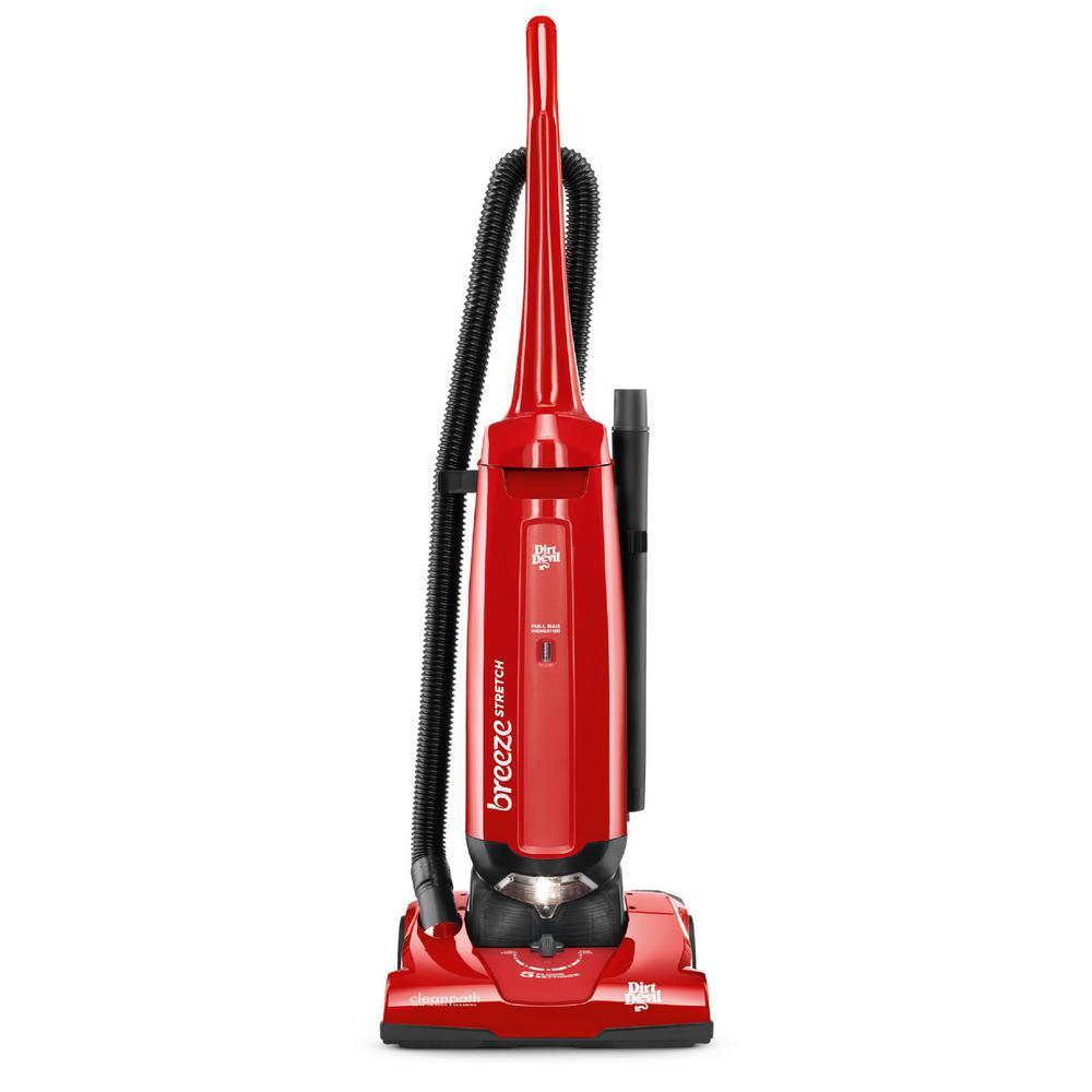 Dirt Devil Breeze Stretch Bagged Upright Vacuum Cleaner, ...