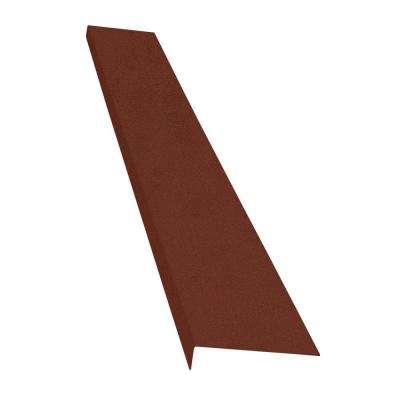 Classic Series 8 in. x 72 in. Brick Powder Coat Finished Steel Foundation Plate for Cellar Door