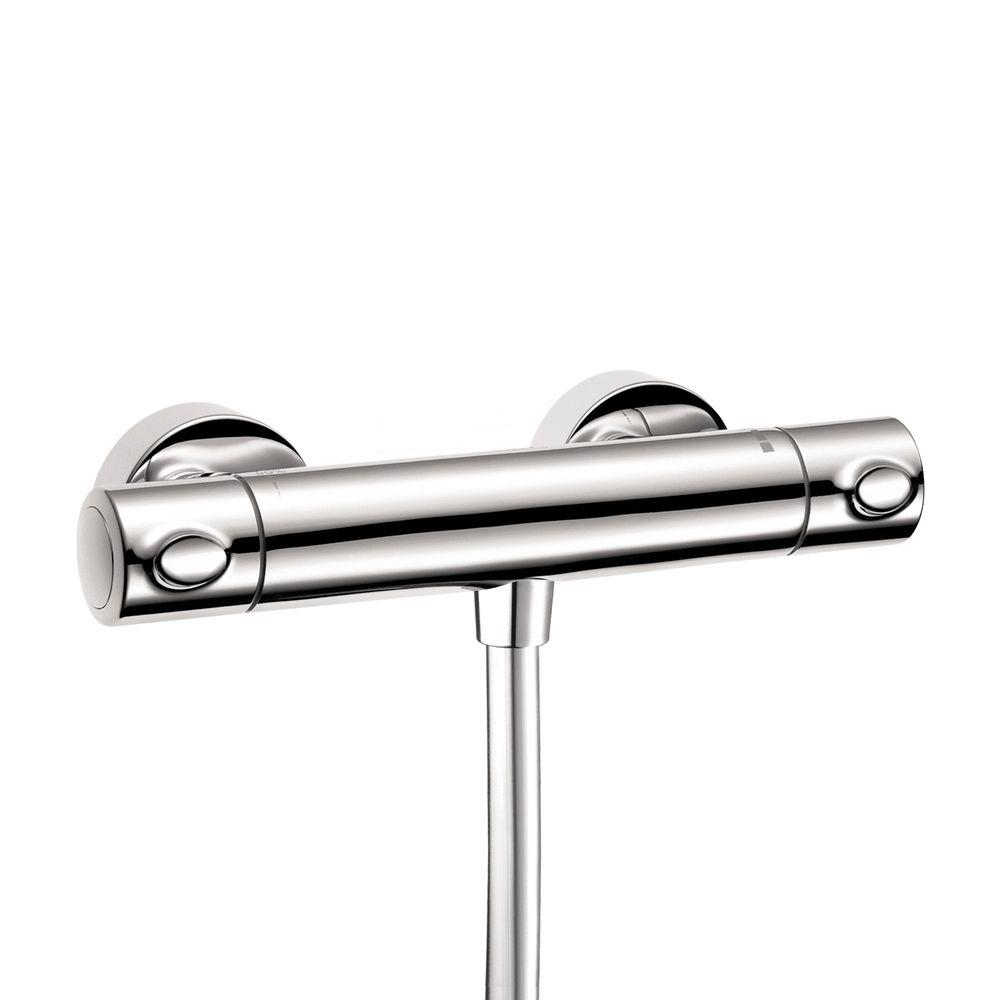 Hansgrohe Ecostat 2-Handle Shower Thermostat in Chrome