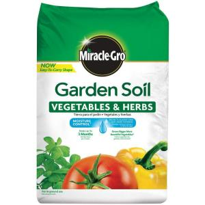 Miracle gro moisture control 1 5 cu ft garden soil for - Home depot miracle gro garden soil ...