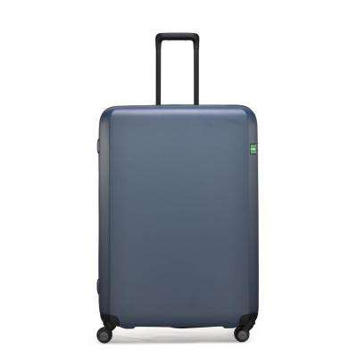 Rando Expandable 30.3 in. Steel Blue Hardside Spinner Suitcase