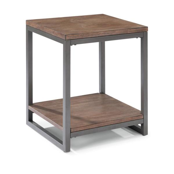 Home Styles Barnside Metro Driftwood Gray End Table 5053-20
