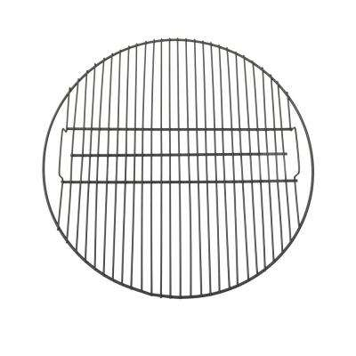 30 in. Black Steel Fire Pit Cooking Grate