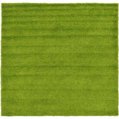 Lovely Green - Square - Solid - Area Rugs - Rugs - The Home Depot LI08