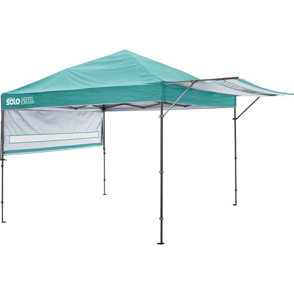 Quik Shade Solo170 10 Ft X 17 Ft Turquoise Straight Leg