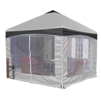 Garden Party 10 ft. x 10 ft. Canopy with Stone Garden Cover