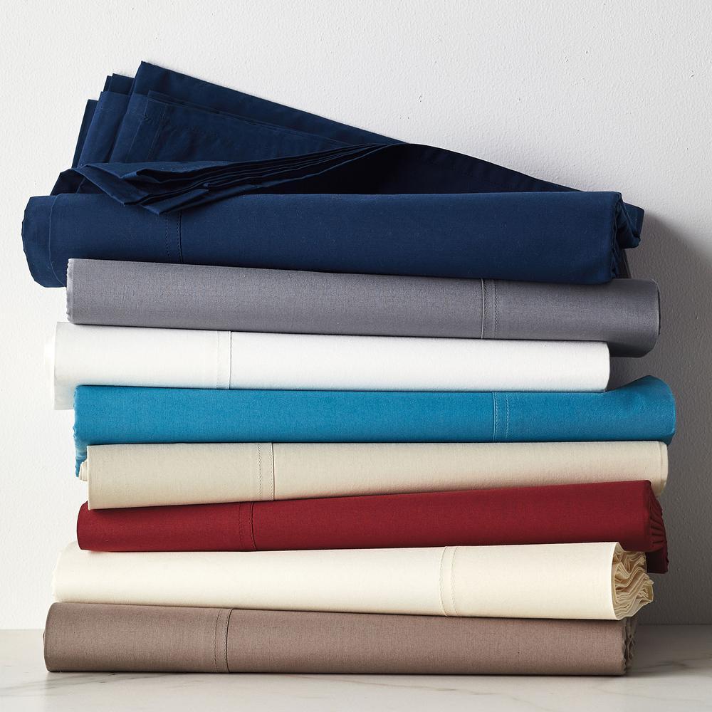 400-Thread Count Supima Cotton Percale Pillowcase (Set of 2)