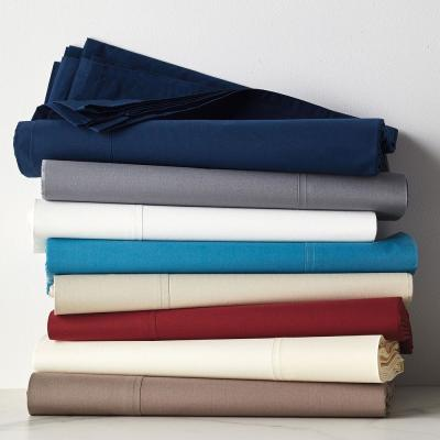 400-Thread Count Supima Cotton Percale Duvet Cover
