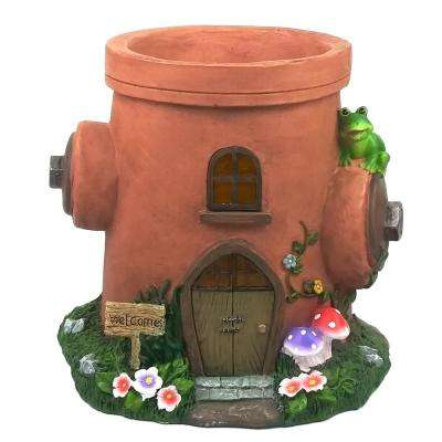 Fire Hydrant Polystone Resin Planter