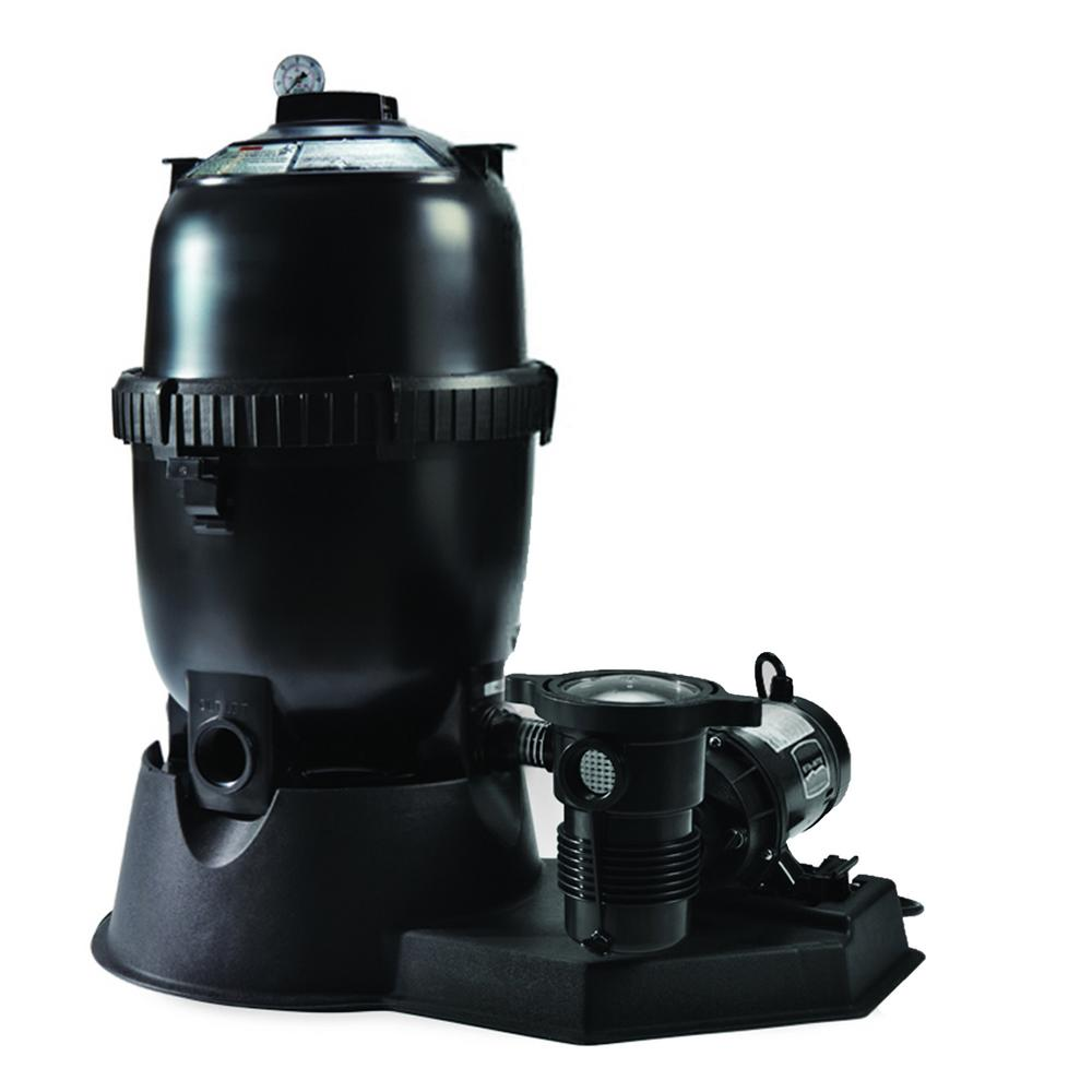 Pentair Sta Rite 150 Sq Ft Mod Media Filter System With 1 5 Hp Pump For Above Ground