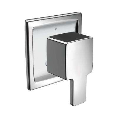 Dartmoor Posi-Temp Rain Shower 1-Handle Tub and Shower Faucet Trim Kit in Chrome (Valve Not Included)