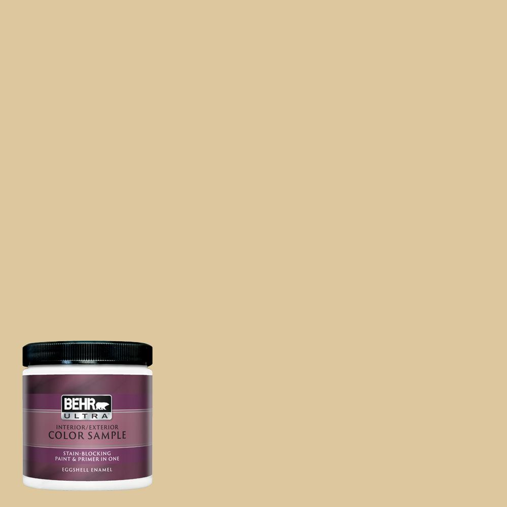 Behr Ultra 8 Oz 360e 3 Winter Garden Eggshell Enamel Interior Paint And Primer In One Sample Ul21416 The Home Depot