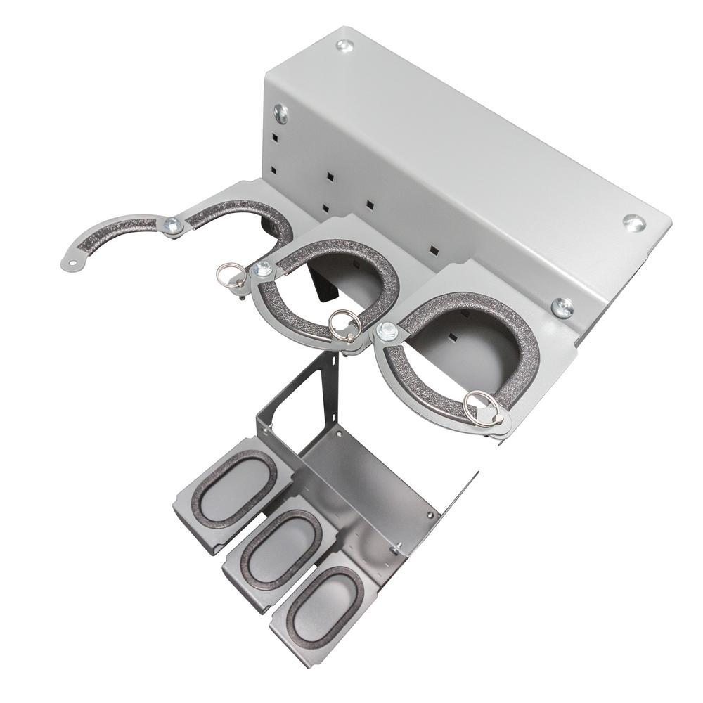 ESP Steel Adjustable Gun Rack in Grey