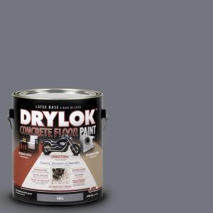 Drylok 1 Gal Gull Latex Concrete Floor Paint 209154 The