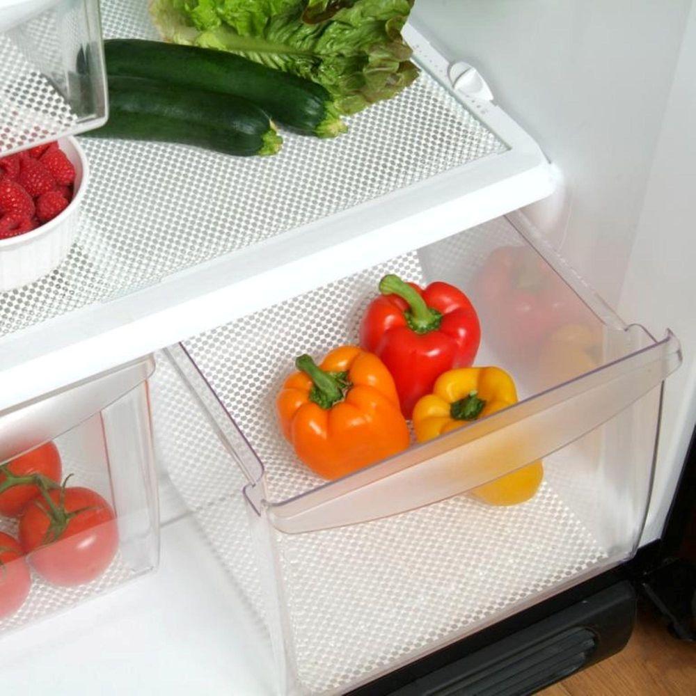 Refrigerator Bin Liner in White (2-Pack)