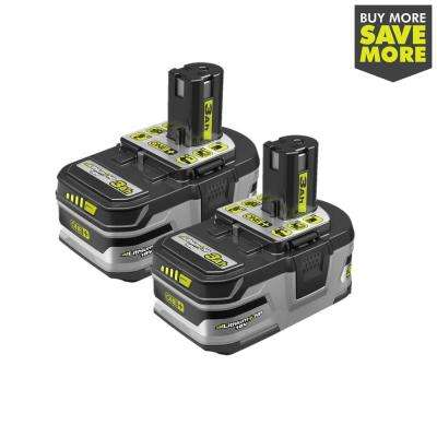 18-Volt ONE+ Lithium-Ion LITHIUM+ HP 3.0 Ah High Capacity Battery (2-Pack)