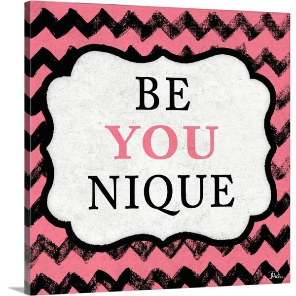 Greatbigcanvas Be You Nique By Patricia Pinto Canvas Wall Art 2331634 24 24x24 The Home Depot