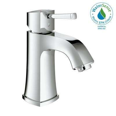 Grandera Single Hole Single-Handle 1.2 GPM Bathroom Faucet in StarLight Chrome
