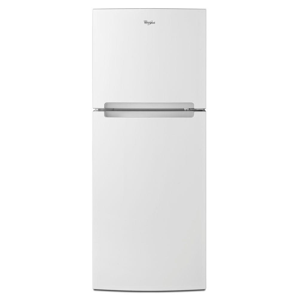 Whirlpool 10.7 cu. ft. Top Freezer Refrigerator in White