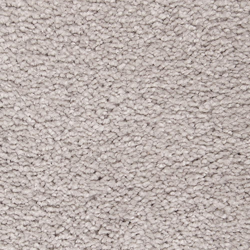 Lifeproof Castle II - Color Morning Shadow Textured 12 ft. Carpet